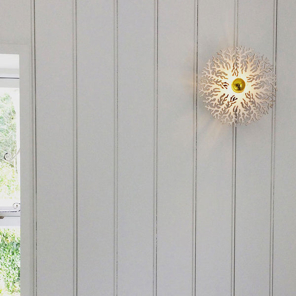 Coral - Wall Light, Created by Norwich based designer Charlotte Packe.