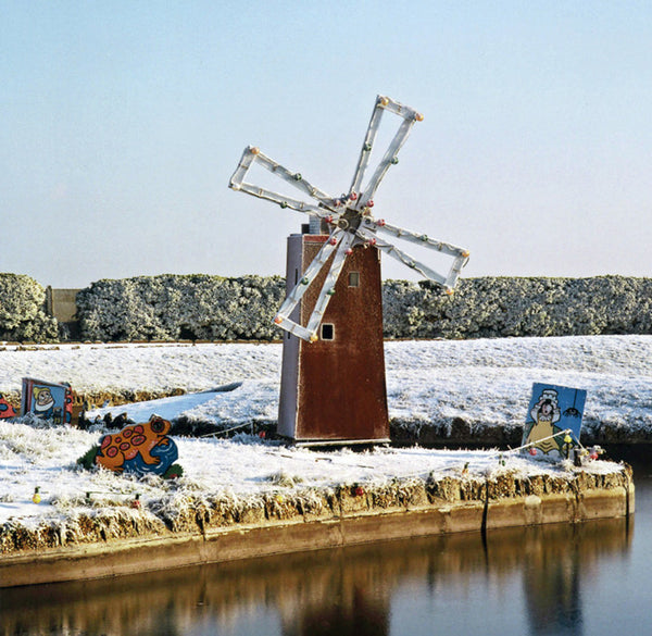 Waterways Windmill. Print by Norfolk based artist Debby Besford