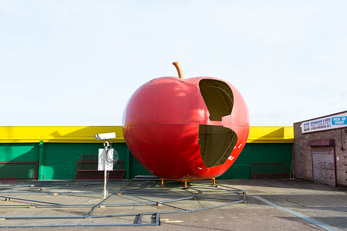 Pleasure Beach Red Apple Kiosk