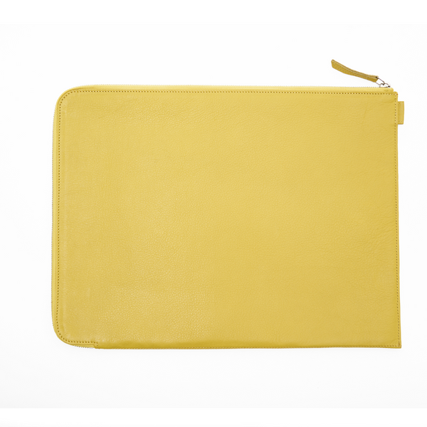 Folio Laptop Sleeve - Yellow