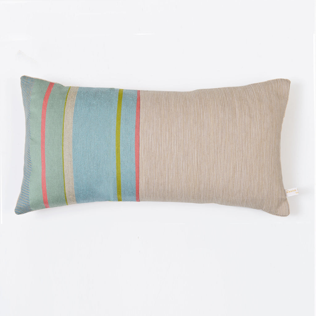 Made with woven fabric by Suffolk based designer Laura Fletcher
