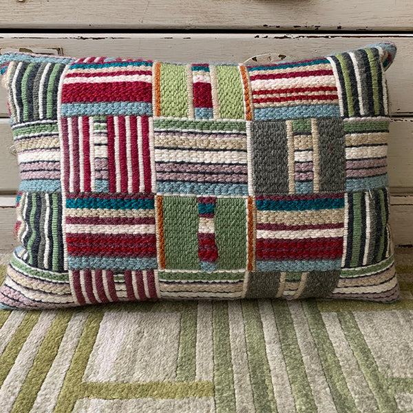 CUSHION - PATCHWORK