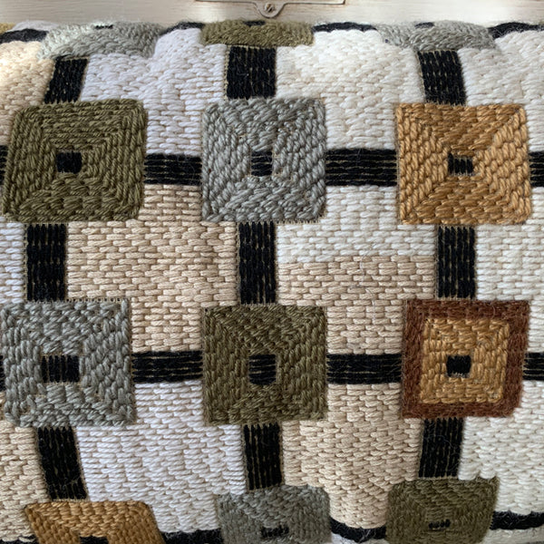 BOLSTER CUSHION - CONNECTING SQUARES