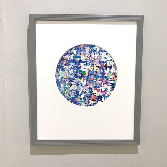 Kaleidescope. Paper construction by Norwich based artist Joni Smith