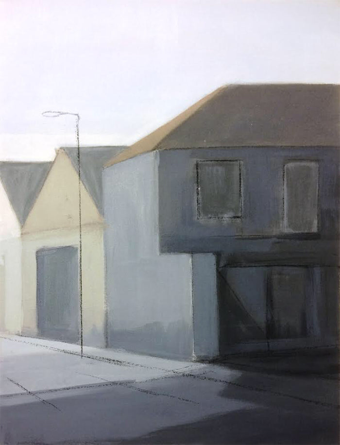 Painting of Great Yarmouth. By Norfolk based artist Katargyna Coleman