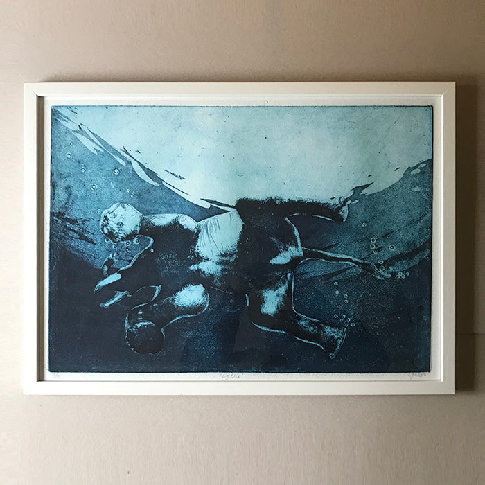 Limited edition print by Norfolk based artist Louisa Jones
