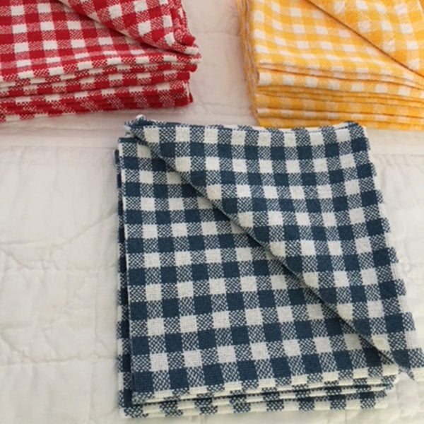 Hand woven napkins (red)