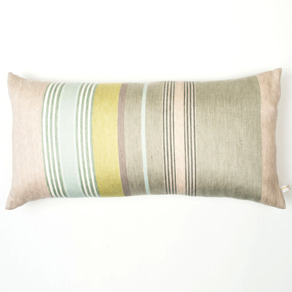 Mistley cushion – Apple grey