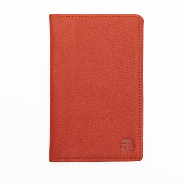 Notebook and Passport Holder - Orange