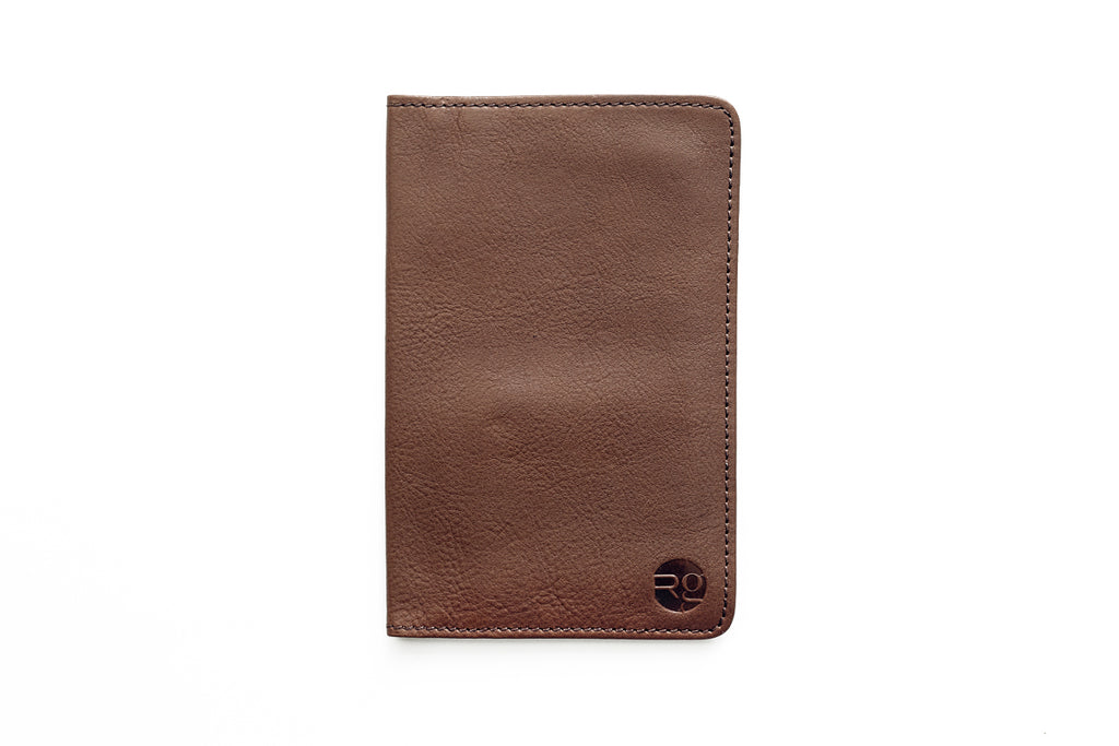 Notebook and Passport Holder - Tan