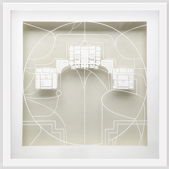 Houghton Hall - ORIGINAL HAND CUT