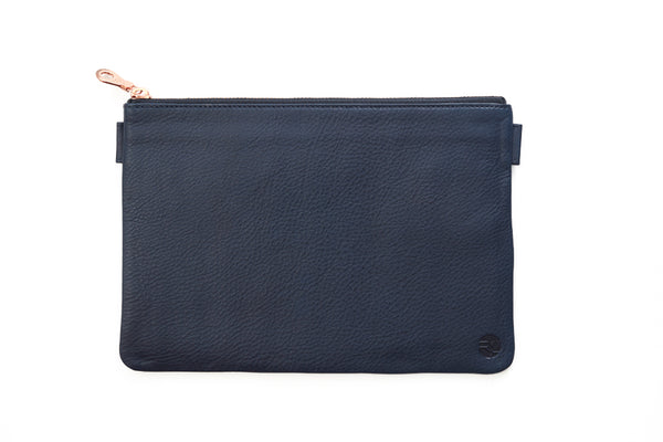 Travel Pouch. Luxury leather goods by Norfolk based designers Richings Greetham