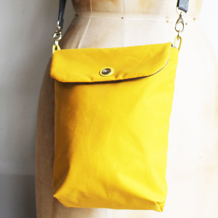 Tall Small Washer Bag - Yellow