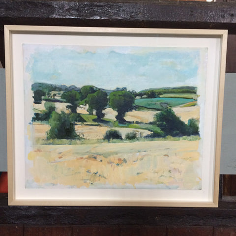 Matlaske View, Norfolk landscape, framed