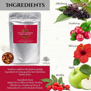 *New* Organic Cranberry Apple Crisp Loose Leaf Tea - UEndure