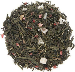 Organic Strawberry Loose Leaf Green Tea  50g / 1.75 oz - UEndure