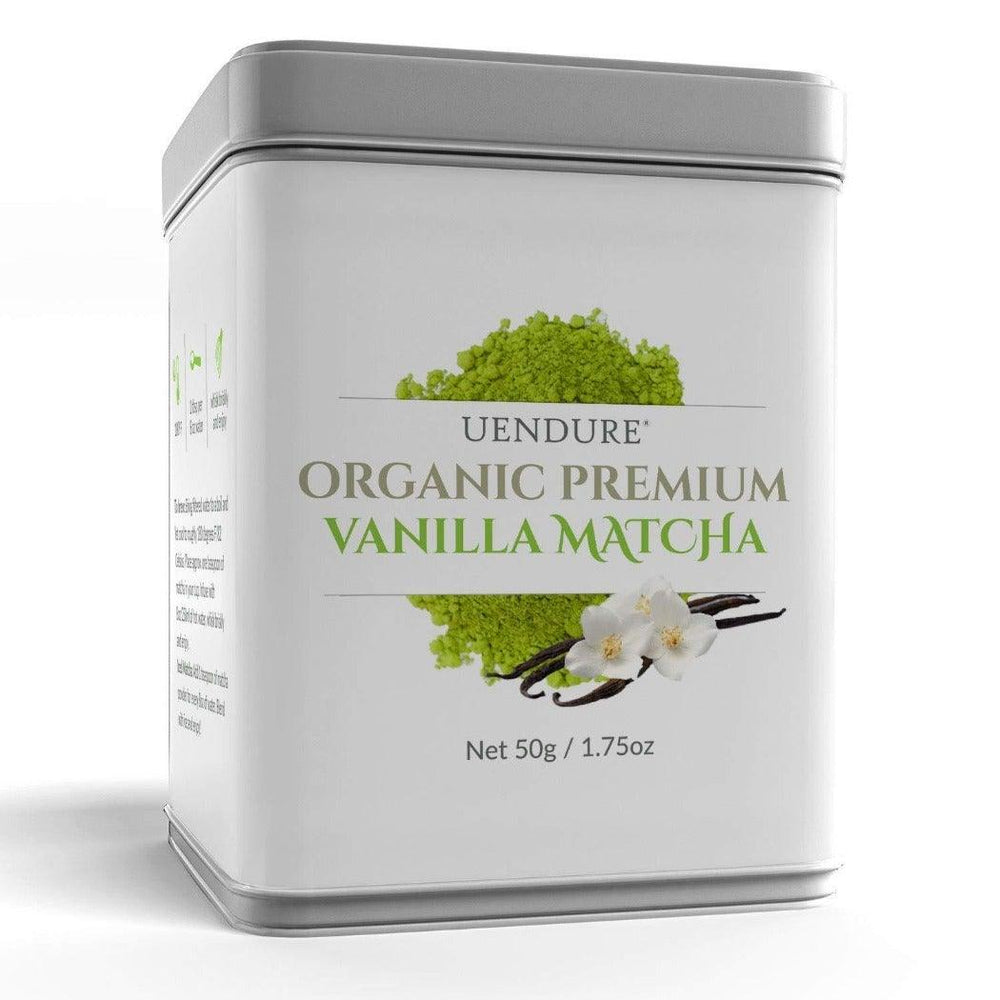 *New* Organic Premium Vanilla Matcha Green Tea Powder   50g / 1.75 oz - UEndure