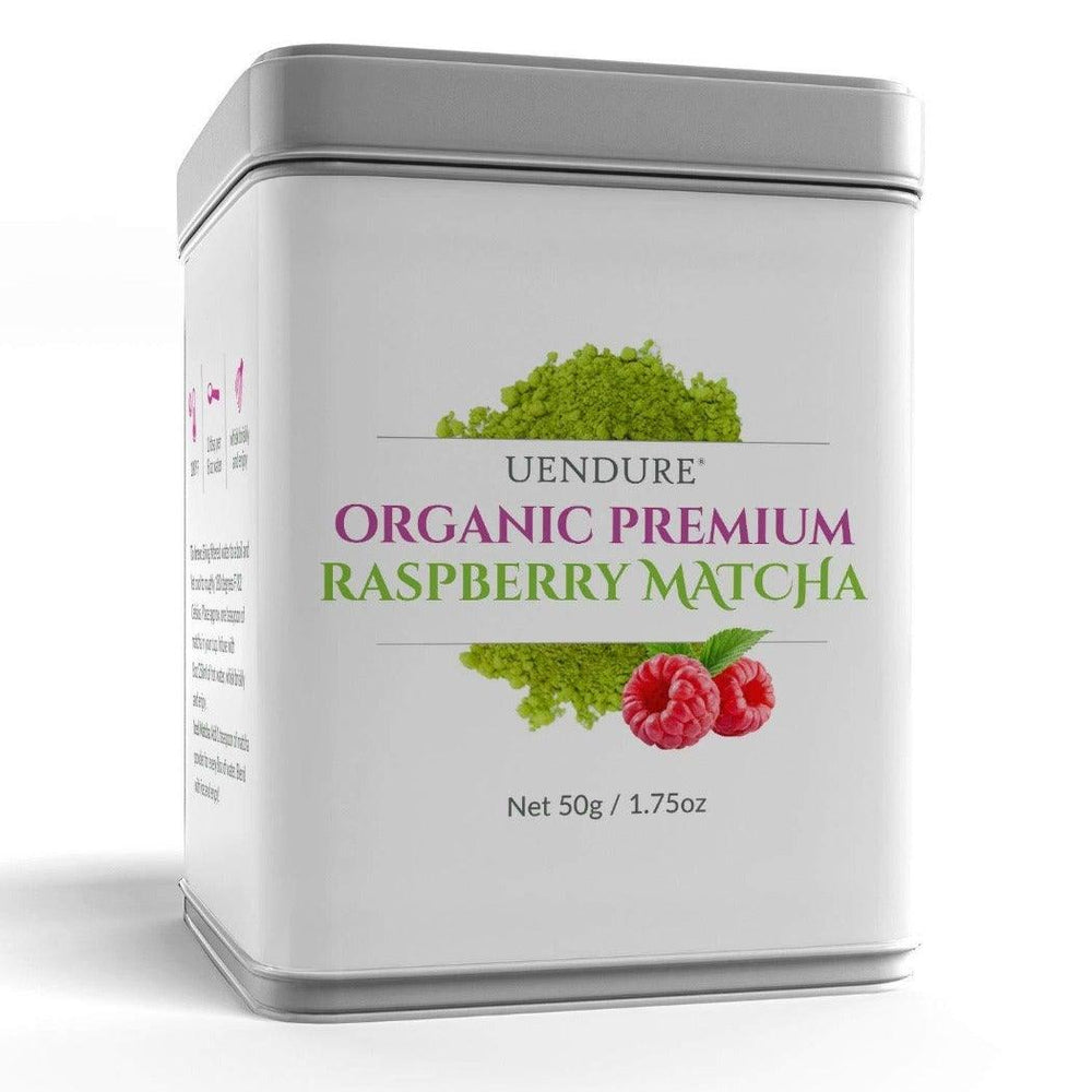 *New* Organic Premium Raspberry Matcha Green Tea Powder   50g / 1.75 oz - UEndure