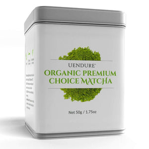 *New* Organic Premium Choice Matcha Green Tea Powder 50g / 1.75 oz - UEndure