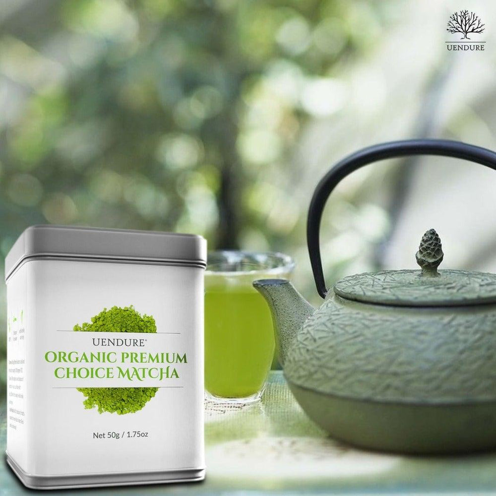 Organic Premium Choice Matcha Powder 50g / 1.75 oz - UEndure
