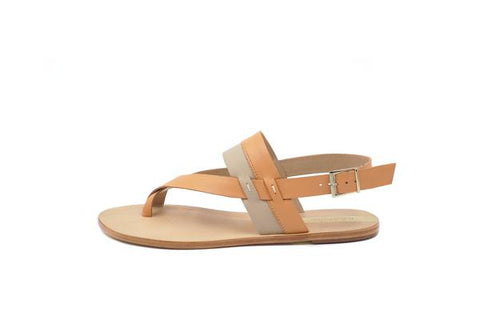 Leather Sandal Orange