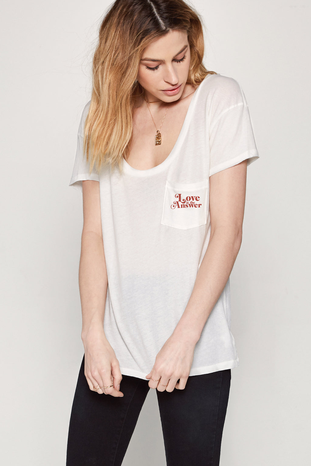It's The Little Things Pocket Tee