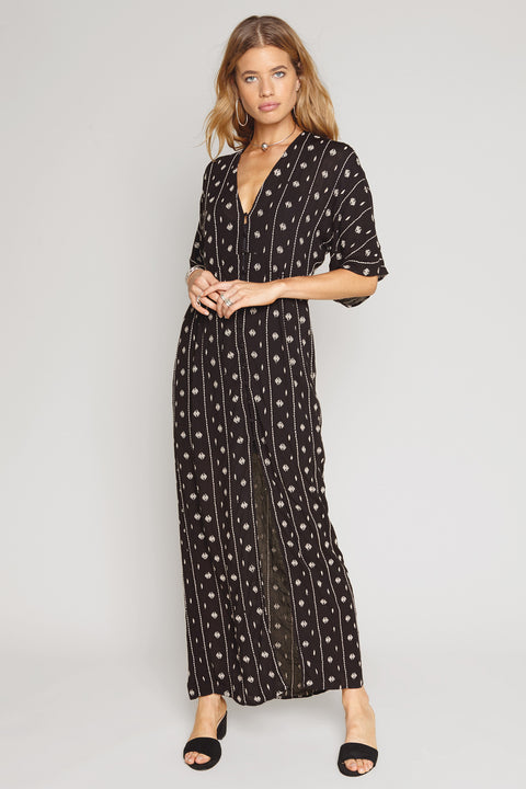 Printed Maxi Dress from Amuse Society Woman's Apparel