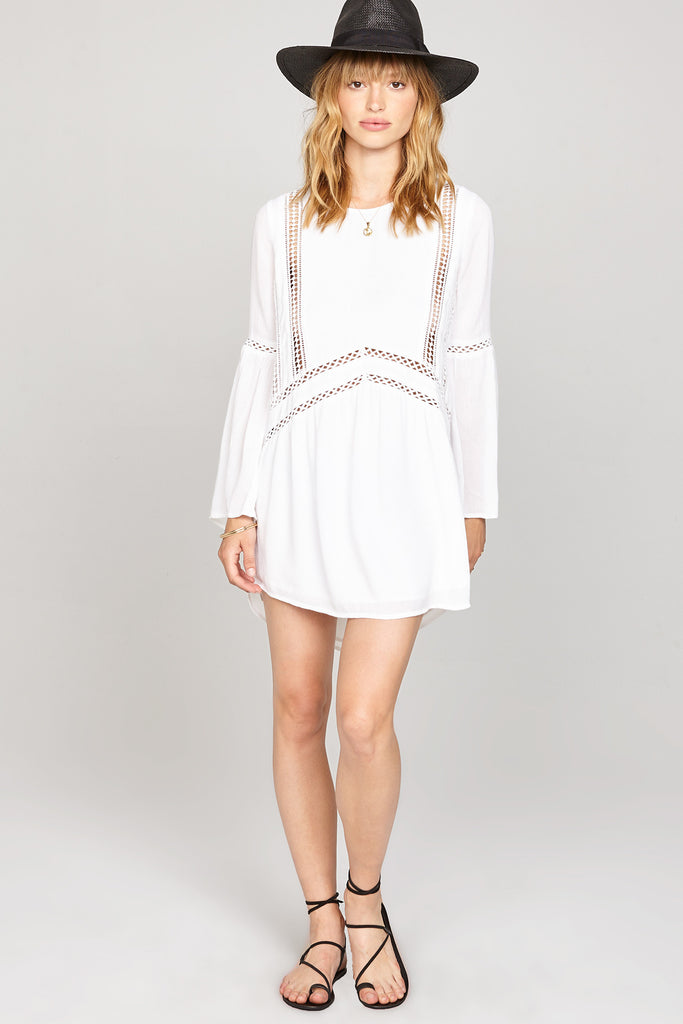 Kensington White Dress From Amuse Society