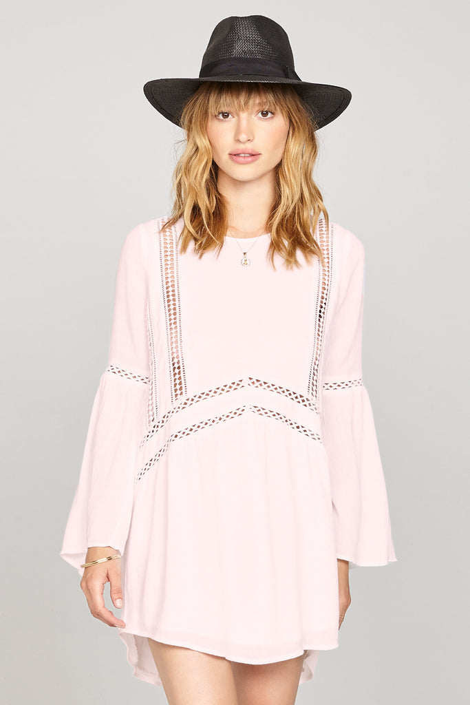 Amuse Society Pink Kensington Dress