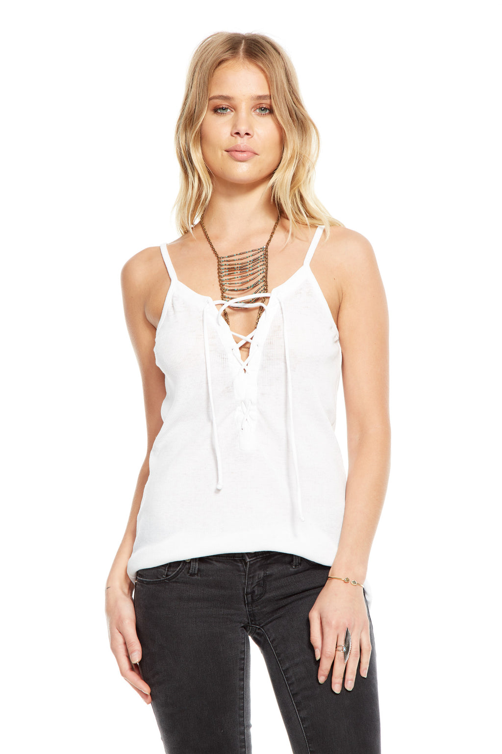 Lace Up Tank Chaser LA