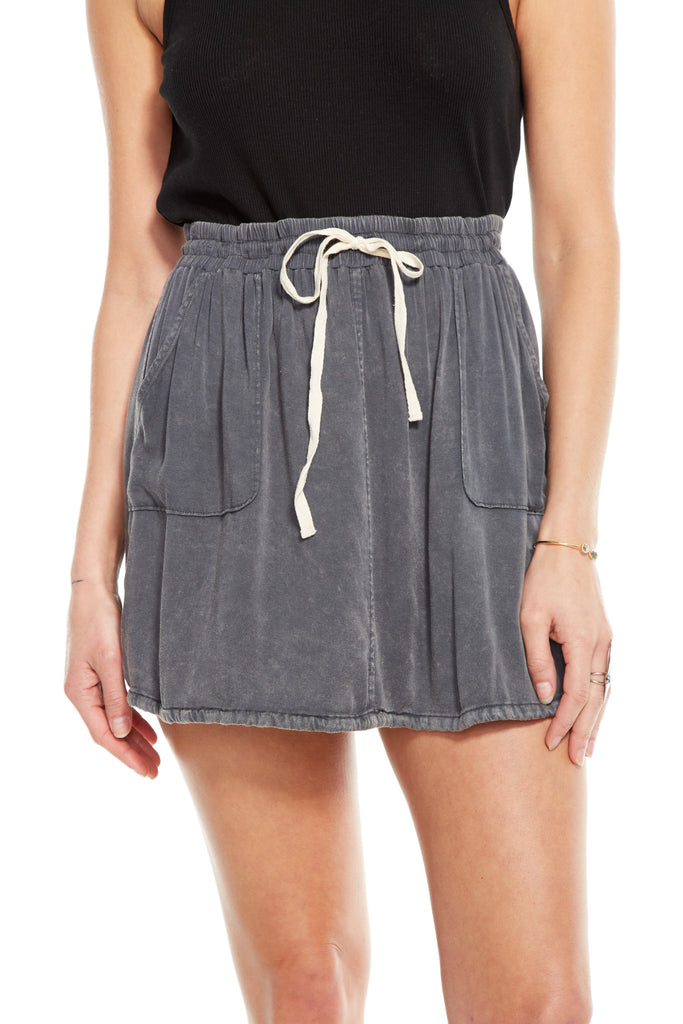 Cotton Mini Skirt Chaser LA