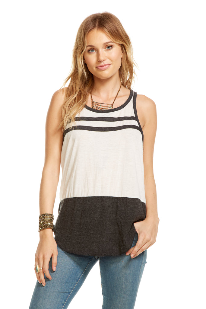 Color Block Tank from Chaser brand