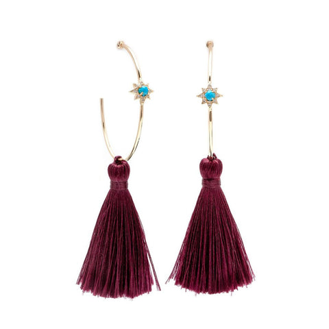 Earrings Melanie Auld Tassels
