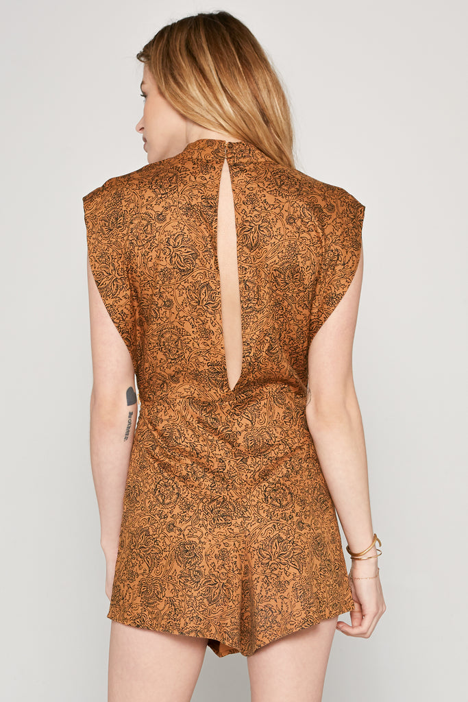 amuse society printed romper
