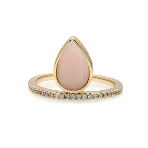 Tear Drop Stacking Ring