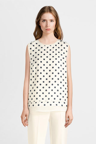 Diane Laury Printed Blouse CH303