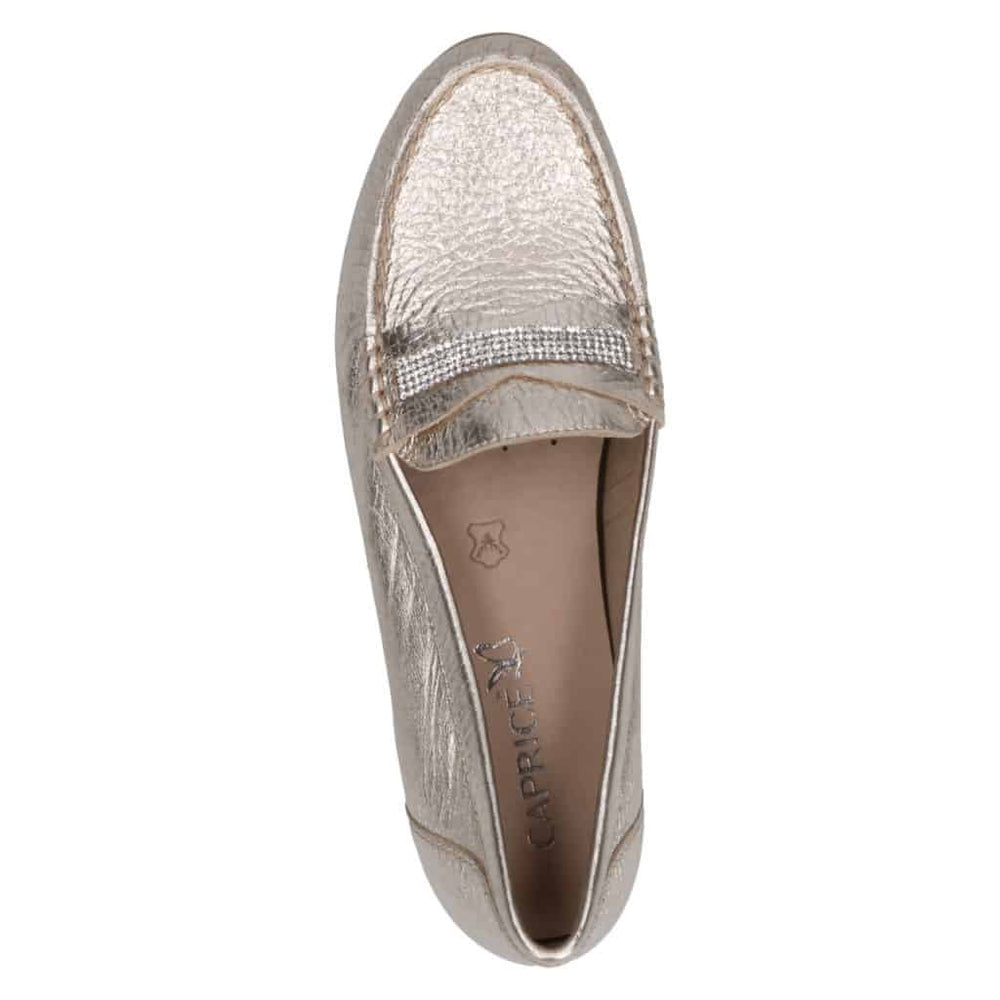 CAPRICE GOLD MOCCASIN 24253