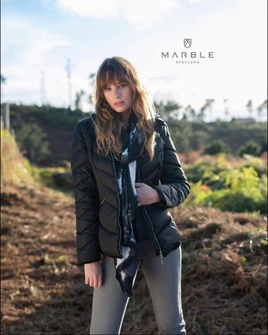 MARBLE PADDED JACKET 5949