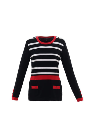 MARBLE STRIPED SWEATER 5830