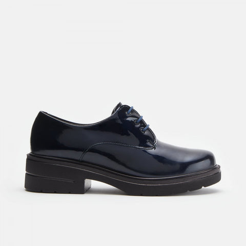 PITILLOS PATENT LEATHER LACE BLUCHER