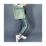 DECK by Decollage 816133 Jersey Jogger with Stripe + COLOURS