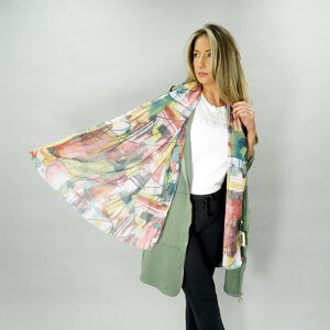 DECK CEZANNE SCARF + COLOURS