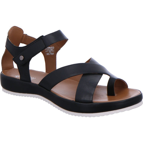 ARA DUBAI THONG SANDALS - BLACK