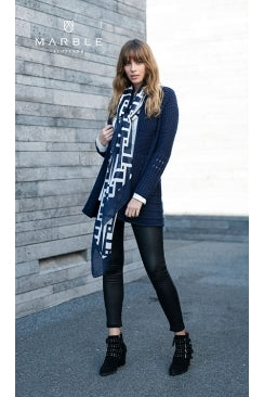 Marble Scarf 5964