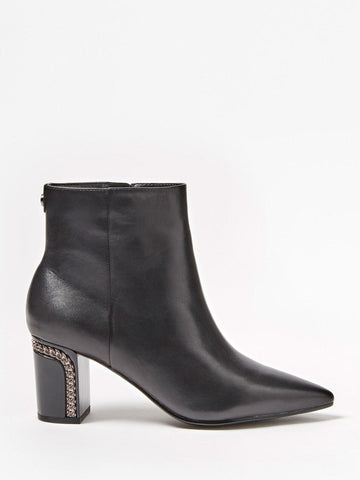 GUESS BLONDIE LEATHER ANKLE BOOT