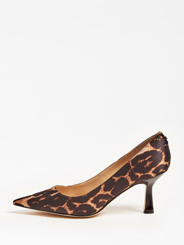 GUESS GALYAN ANIMALIER COURT SHOE