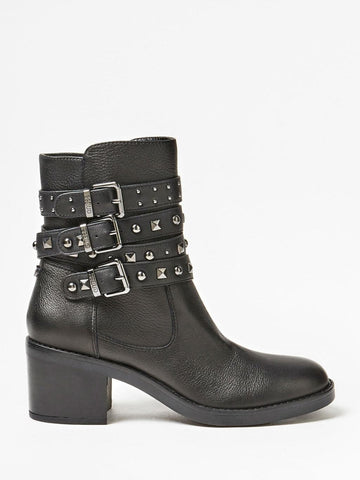 GUESS COLLEEN LEATHER ANKLE BOOT