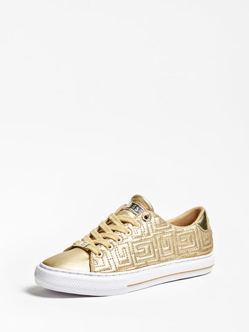 GUESS GOLDENN QUILTED LOGO SNEAKER