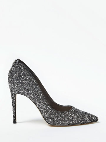 GUESS GLITTER HIGH HEEL COURT SHOES