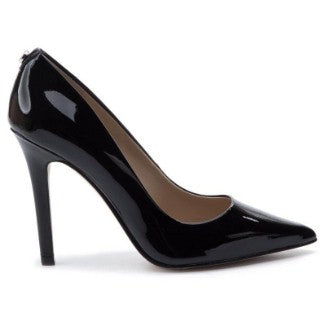 GUESS PATENT HIGH HEEL COURT SHOES